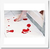 blodig-badrumsmatta