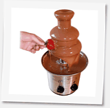 lyxig-chokladfontän